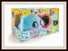 Blu Blu Bebe Delfín Blu Blu el bebe delfín esta arrasando entre los mas pequeños siendo el #juguete mas vendido en #amazon donde lo podemos comprar en oferta por 50,90 euros, el mejor precio de internet.