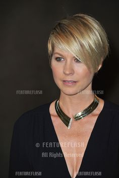 Jenna Elfman at the Women in Film 2011 Crystal + Lucy Awards at the Beverly Hilton Hotel..June 16, 2011  Beverly Hills, CA.Picture: Paul Smi...