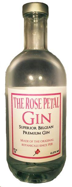 The Rose Petal Gin. Huisgin van Colruyt én oervlaams!