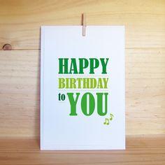 Carte d'anniversaire - Création Clemencedemalglaive #Carte #Anniversaire / #Postcard #Happy #Birthday