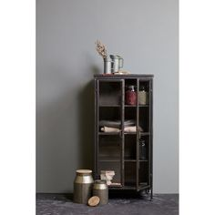 BePureHome Puristic Metal Display Cabinet & Reviews | Wayfair.co.uk