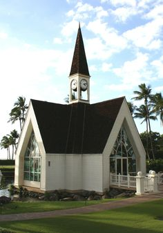 Grand Wailea Resort, Maui - Wedding chapel (within 100 yards of the ocean).  Beautiful location