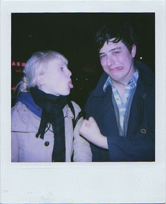 Marcus Mumford and Laura Marling. Look at these babies.