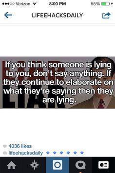 Women can detect lies