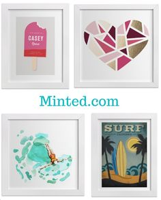 Minted.com a new twist on gift Ideas for teens