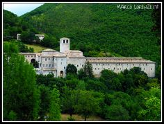 Fontavellana Abbey at the Catria Mountain