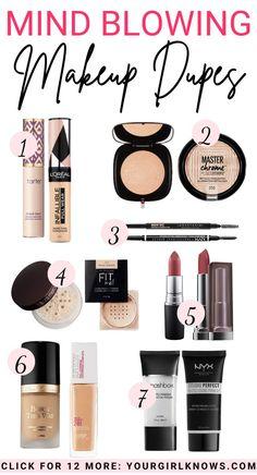 Elf Makeup Dupes, Makeup Ads, Makeup Cosmetics, Candy Makeup, Edgy Makeup, Basic Makeup, Cheap Makeup, Love Makeup, Best Drugstore Dupes