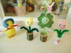 Laura Adams paperclay creations