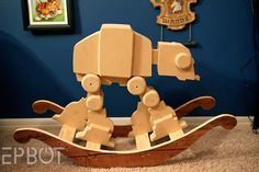 AT-AT Rocking Horse «Craziest Gadgets. No question. I'll have this in my house.
