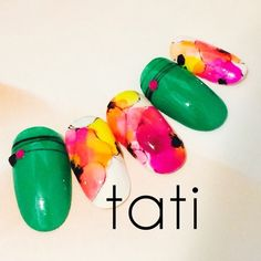 Red Nail Designs, Beautiful Nail Designs, Sculpted Gel Nails, Nail Selection, Japanese Nail Art, Fabulous Nails, Flower Nails, Nail Arts, Spring Nails