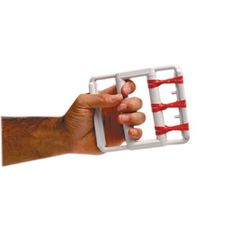 Cando Rubber-Band Hand Exerciser - Red Only