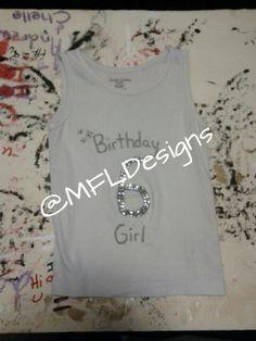 Bedazzled #birthday #shirt #6 #kids