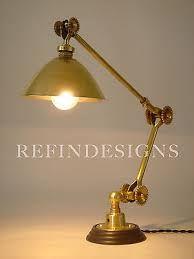 Ancienne lampe applique industrielle DUGDILL designer John Dugdill