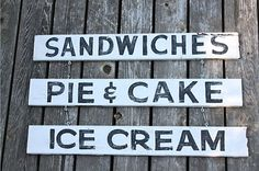 vintage kitchen signs | Reproduction vintage sign KITCHEN OR PORCH by ... | finds for the home