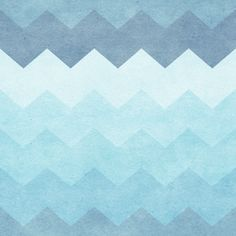 Chevron Waves Removable Wallpaper Wall Decal