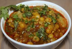 Matar Tarkari ( Yellow Peas Curry) : http://secretindianrecipe.com/recipe/matar-tarkari-yellow-peas-curry