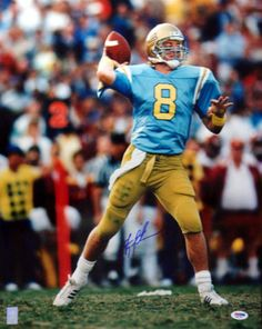 This is an 16x20 Photo that has been hand signed by Troy Aikman. The autograph has been certified authentic by PSA/DNA and comes with their sticker and matching certificate.