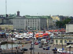 Kauppatori Market Square viewed from Katajanokka - Helsinki. Kauppatori, yleisnäkymä koillisesta. Kuva MV/RHO Saara Vilhunen