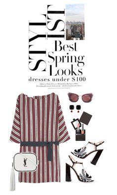 """""""Dresses Under $100"""" by shortyluv718 ❤ liked on Polyvore featuring H&M, BLVD Supply, Rochas, MANGO, Yves Saint Laurent, Laura Mercier, Miu Miu, Les Néréides and under100"""