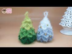 Crochet Christmas Amigurumi Crocodile Stitch 68 Ideas For 2019 Christmas Tree Pattern, Crochet Christmas Ornaments, Christmas Toys, Christmas Knitting, Christmas Projects, Crochet Tree, Crochet Flowers, Scrubby Yarn, Knitting Patterns