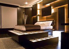 Chambre adulte originale - 80 suggestions - Archzine.fr | Rouge ...