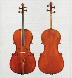 A 1706 cello by David Tecchler