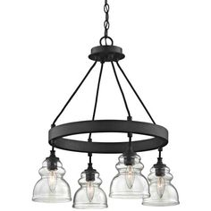 Fifth and Main WL2063 Muncie 4 Pendant 4 Light Corsican Bronze >>> For more information, visit image link.-It is an affiliate link to Amazon. #DiningRoomLighting