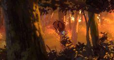 ArtStation - The Firefly Grove Backgrounds 1, Mathias Zamęcki