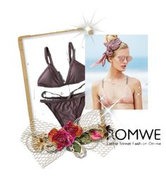 """ROMWE"" by bestino ❤ liked on Polyvore featuring Beach Riot"