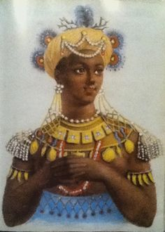 Makeda was a monarch of the ancient kingdom of Sheba and is referred to in Habeshan history, the Hebrew Bible, the New Testament, and the Qur'an. Sheba was an ancient name for Abyssinia, a kingdom on the Red Sea in the vicinity of modern Ethiopia and Yemen. African women of antiquity were legendary for their beauty, power and lover affairs. At this time, Ethiopia was second only to Egypt in power and fame.