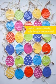 DIY: Salt Dough Eggs by MyLittleCornerOfTheWorld