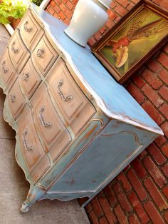 Vintage French Provincial Dresser Paint To Order