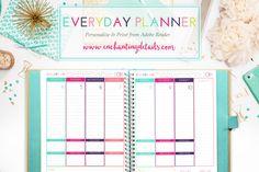 2016 Printable Weekly Everyday Planner