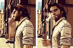 The Wolf Among Us   Ah, Bigby. Another game crush of mine. ;)