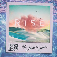 """""""Rise"""" by Jonas Blue Jack & Jack was added to my New Music Friday playlist on Spotify Jack And Jack Songs, Jack E Jack, Music Drawings, Music Artwork, Sam Smith, Dj Animation, Pochette Album, Music Pictures, Album Songs"""