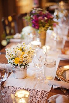 Rich Sister Wedding Place Settings