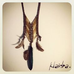 NEW colors for our favorite *magic arrow* beaded necklace✌️ #klaidra #fw15 #newdesigns #designers #jewelry #chevron #feathers #handmade #bohemian #ethnic #gypsy #fashion #beaded #necklace #greekdesigners #klaidrajewelry