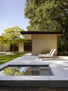 If you're adding a spa or hot tub, add visual impact by keeping it separate from the swimming pool, says landscape architect Scott Lewis. Photograph by Matthew Millman courtesy of Scott Lewis Landscape Architecture. Pool Spa, Swimming Pool Designs, Swimming Pools, Modern Hot Tubs, Cedar Cladding, Moderne Pools, Residential Architecture, Landscape Architecture, Architecture Photo
