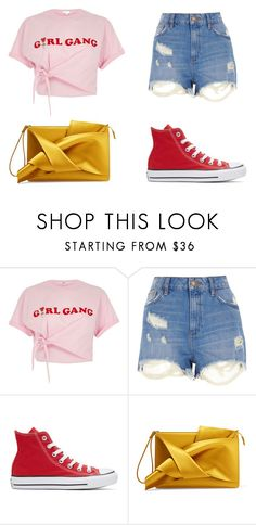 """""""Nights with you"""" by briar-valiant on Polyvore featuring River Island, Converse and N°21"""