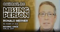 Please help us spread the word about Ronald Merner out of Oak Bay, British Columbia by sharing this report. Missing Persons, British Columbia, Year Old, Words, One Year Old, Age, Horse