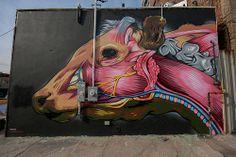 Mr Prvrt mural at the Bushwick collective, Brooklyn New York Street Art, Installation Art, Art Installations, Graffiti Characters, Hip Hop Art, Graffiti Styles, Street Art Graffiti, Community Art, Public Art