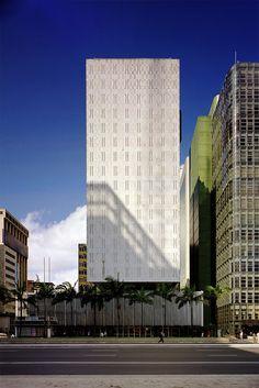 Edifício Banco Sul-Americano do Brasil, São Paulo - SP, Brasil - Rino Levi