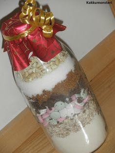 CowGirl Cookies lahjapurkki. (Kuva ja ohje kakkumonsterin blogista.)