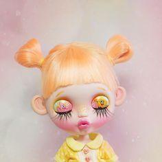 Custom blythe SpongeBob n Patrick Say Hi⭐️⭐️⭐️ by pjdolls in Instagram #pjdolls #customblythe #blythe #blythecustom #カスタムブライス #ブライス #spongebob #doll