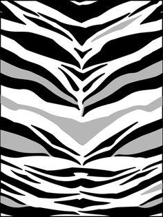 Modernos Tiger Diseño plantillas, stensils y stencles