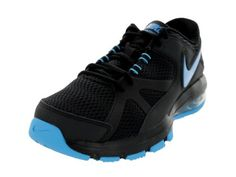 Nike Mens Air Max Compete TR BlackVivid Blue Training Shoe 75 Men US -- See this great product. (This is an affiliate link) #MensExerciseFootwear