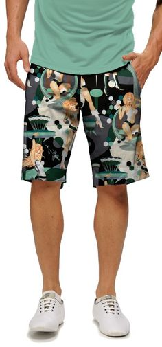 Tiger Cub and Bananas Pattern Mens Fashion Beach Board Shorts Sports Runnning Pockets Bathing Suit