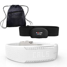 Polar 90058310  Loop 2 Activity Tracker  Crystal with Black H7 Heart Rate Sensor MXXL and Bag  Black ** Read more reviews of the product by visiting the link on the image.