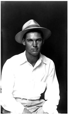 "thenewloverofbeauty:  ""Mike Disfarmer (American 1884-1954) Young Man with Hat (1939)  """