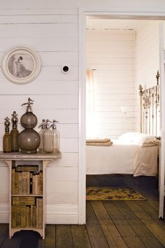 ✣ French Country Farmhouse ✣ Vintage Bedroom Decor, Farmhouse Bedroom Decor, Shabby Home, Shabby Cottage, Shabby Chic, Victorian Cottage, White Interior Design, Style Deco, White Cottage